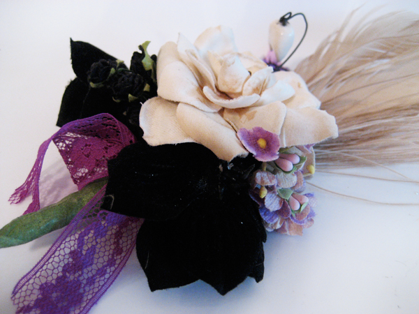 Black Magic Corsage